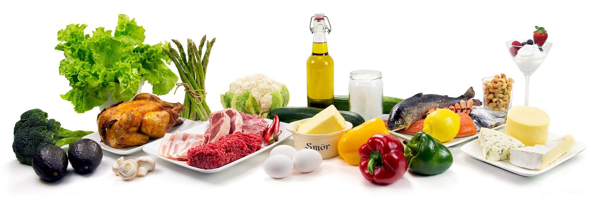 KETO: olivenolje, grønnsaker, smør, kjøtt er helt flott keto-mat.