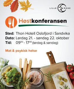 Høstkonferansen 2017 - 21.-22. oktober i Sandvika