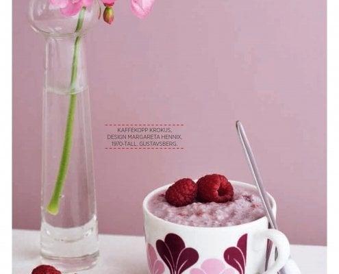Chiapudding med bær - lavkarbo nam!