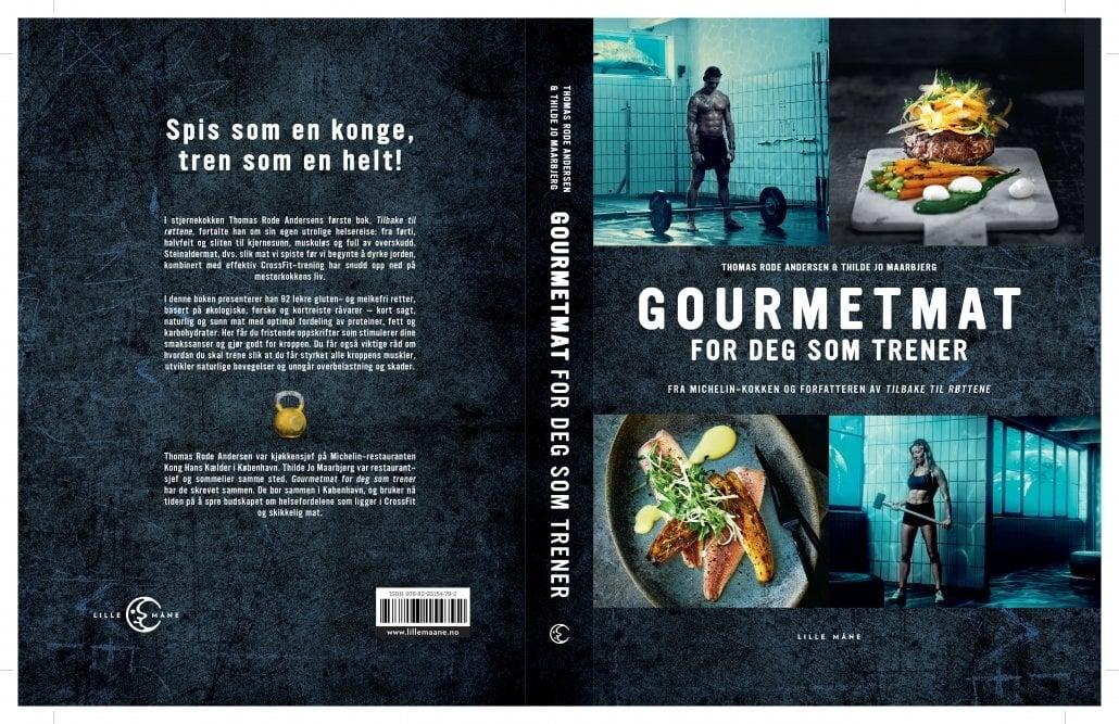 Stjernekokken Thomas Rode Andersen sin bok Gourmetmat for deg som trener