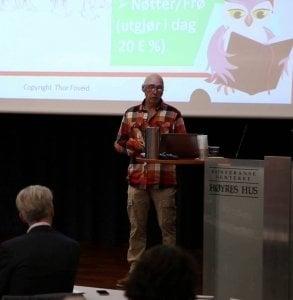 Thor Foseid på høstkonferansen