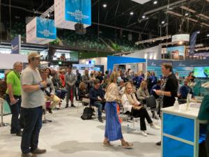Trondheim 2021 - Aqua Nord messen trekker over 20.000 deltakere fra hele verden - her er beviset på at folk vil treffes igjen på konferanser og messer.